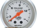 Auto Meter Ultra-Lite Датчик : давления топлива 0-15 PSI #18520