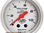 Auto Meter Ultra-Lite Датчик : давления топлива 0-1.0 Bar #18521