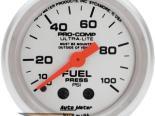Auto Meter Ultra-Lite Датчик : давления топлива 0-100 PSI #18522