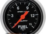 Auto Meter Sport-Comp Датчик : давления топлива 0-15 PSI #18697