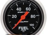 Auto Meter Sport-Comp Датчик : давления топлива 0-100 PSI #18698