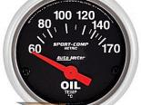 Auto Meter Sport-Comp Датчик : температуры масла 60-170 deg. C #18754
