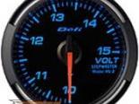 Defi 52mm Синий Racer Датчик: вольтметр 10-15V #19756