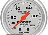 Auto Meter Ultra-Lite Датчик : Boost 0-100 PSI #21253