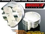 """Wiseco Extreme Duty """"HD"""" E85 Series Forged Pistons w/ Rings (10.5:1 C.R.): 92-99 Mitsubishi Eclipse 7-Bolt #23856"""