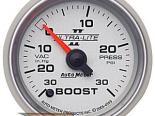 Auto Meter Ultra-Lite II Датчик : Boost/Vacuum 30 In Hg.-Vac./30 PSI #21778