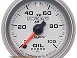 Auto Meter Ultra-Lite II Датчик : давление масла 0-100 PSI #21782