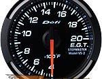 Defi 52mm Белый Racer Датчик: выхлоп Gas Temperature (EGT) 400-2000F #21833