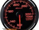 Defi 52mm Красный Racer Датчик: Temperature 100-300F #21837