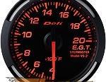 Defi 52mm Красный Racer Датчик: выхлоп Gas Temperature (EGT) 400-2000F #21838