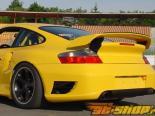 Задний бампер с парктрониками TechArt для Porsche 996 Turbo C4S 2001-2005