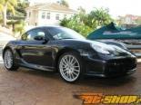 Пороги TechArt для Porsche Cayman 06+