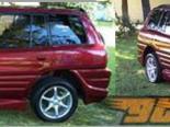 Аэродинамический Обвес для Toyota RAV4 1996-2000