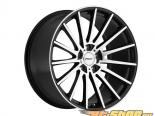 TSW Chicane Gloss Чёрный with Зеркала Cut Face Диски 17x8 5x114.3 +40mm