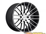 TSW Parabolica Matte Чёрный with Matte Machine Face Диски 18x9.5 5x114.3 +40mm