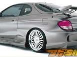 Задний бампер Veilside K01-R для Hyundai Tiburon 00-01