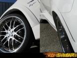Передние пластиковые накладки на крылья Vertex Vertice на BMW E71 X6 08+