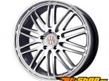 Victor Equipment Le Mans 18X11 5x130 25mm Hyper серебристый Machined Lip