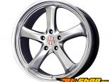 Victor Equipment Turismo 18x11 5x130 40mm Hyper серебристый W/ Machined Lip