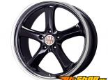 Victor Equipment Turismo 20x11 5x130 40mm Gloss Чёрный W/ Machined Lip