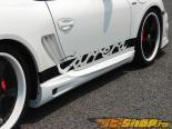 Пороги Warm Collection на Porsche 987 Cayman incl S 2005-2008