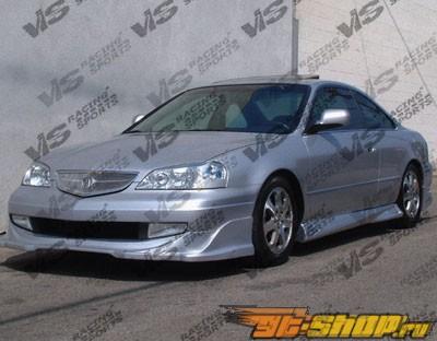 Пороги для Acura CL 2000-2003 Cyber