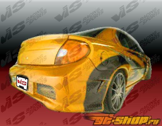 Задний бампер на Dodge Neon 2000-2002 Kombat