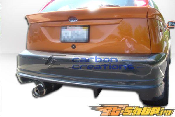 Задний бампер для Ford Focus 05-07 Poison Карбон