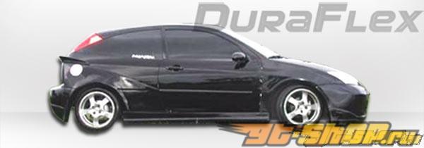 Обвес по кругу на Ford Focus 00-04 Q Flared Duraflex