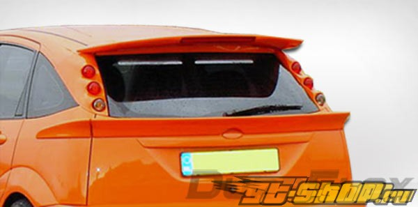 Спойлер для Ford Focus 02-04 Spoon Duraflex