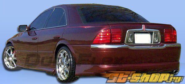 Задняя губа для Lincoln LS 2000-2002 Racer Duraflex