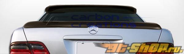 Карбоновый спойлер Morello Edition для Mercedes E Class W210 1996-2002