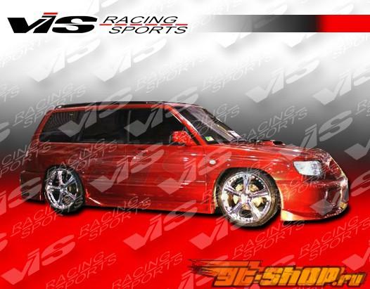 Пороги Tracer для Subaru Forester 2001-2003