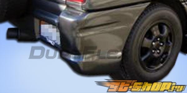 Накладка на задний бампер для Toyota RAV4 01-05 Bomber Duraflex