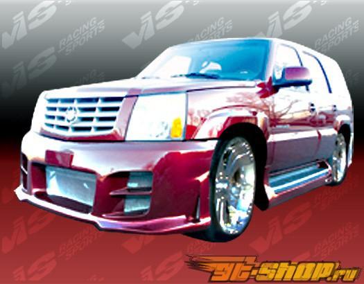 Пороги на Cadillac Escalade 2002-2006 Outcast