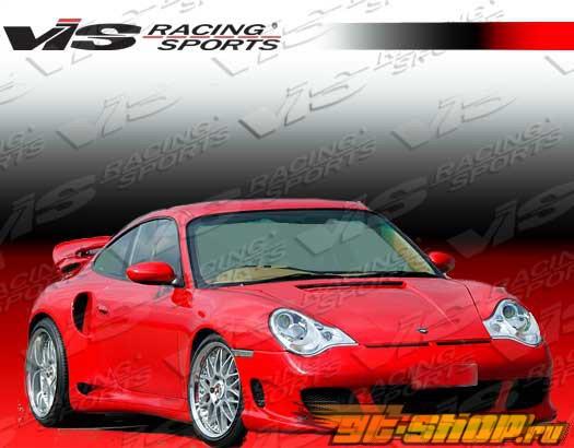 Передний бампер для Porsche 911 2002-2004 G Tech