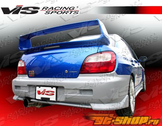Спойлер STI Стиль на Subaru WRX 2002-2007