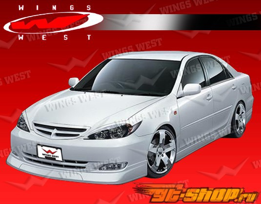 2002-2004 Toyota Camry 4dr JPC Front Lip Polyurethane