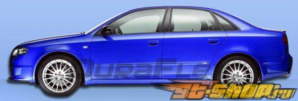 Пороги для Audi A4 2002-2008 DTM Duraflex