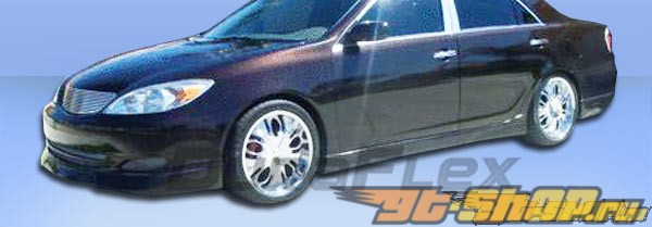 Губа на передний бампер для Toyota Camry 02-04 Vortex Duraflex