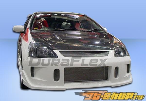Передний бампер для Honda Civic 02-05 JDM Buddy Duraflex