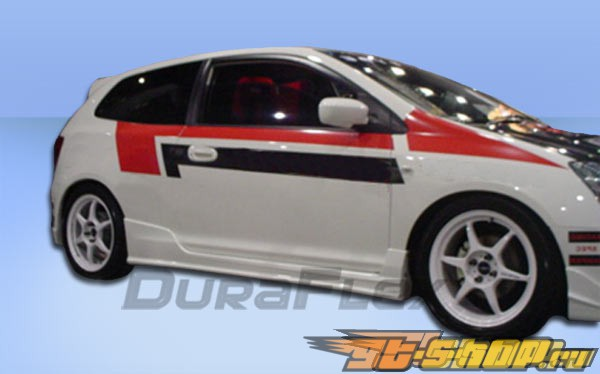 Обвес по кругу для Honda Civic 02-05 JDM Duraflex