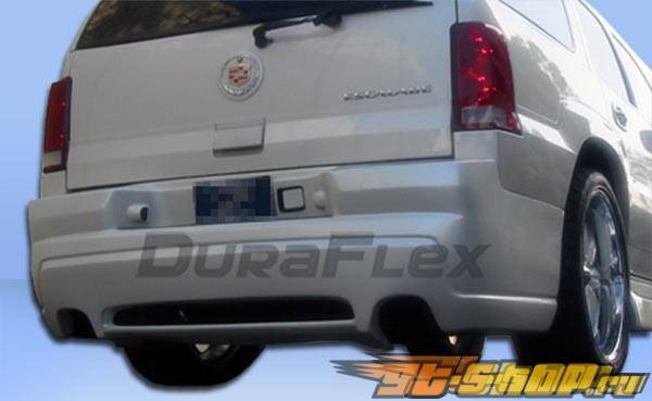 Задний бампер на Cadillac Escalade 02-06 Platinum-2 Duraflex