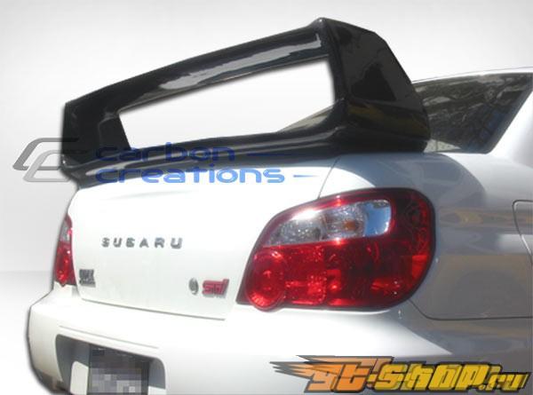 Спойлер на Subaru Impreza WRX 02-07 стандартный Карбон