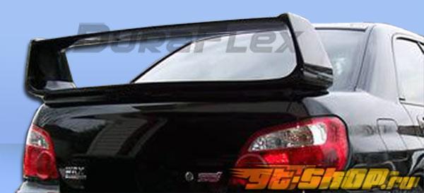 Спойлер для Subaru Impreza WRX 02-07 стандартный Duraflex