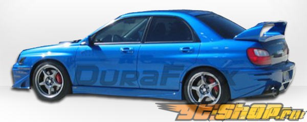 Задний бампер для Subaru Impreza WRX 02-03 Zero Duraflex