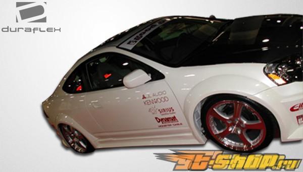 Пороги на Acura RSX 02-06 GT300 Duraflex