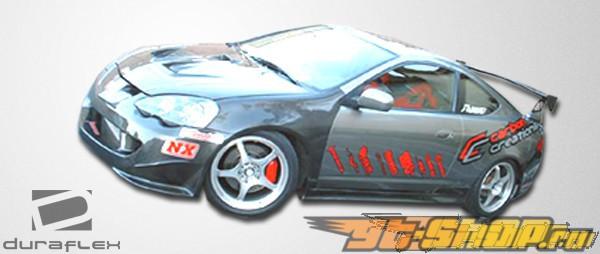 Обвес по кругу для 02-04 Acura RSX Type-M Duraflex