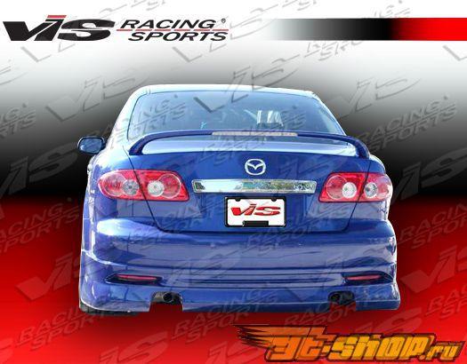 Задняя губа для Mazda 6 2003-2005 K Speed