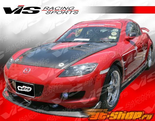 Пороги на Mazda RX8 2003-2007 A Spec Карбон